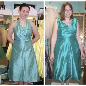 turquoise bridesmaid dress 2