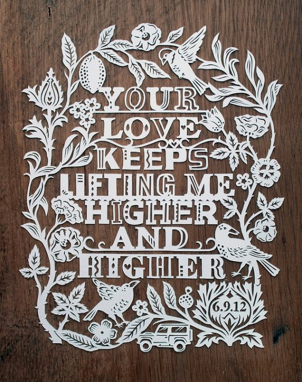 Made By Julene paper cut art
