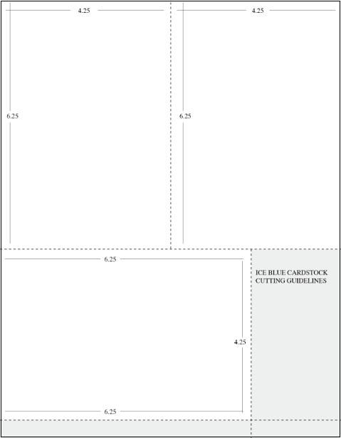 3 layer invitation template