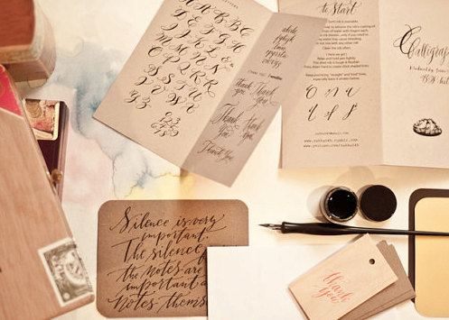 emilie friday calligraphy