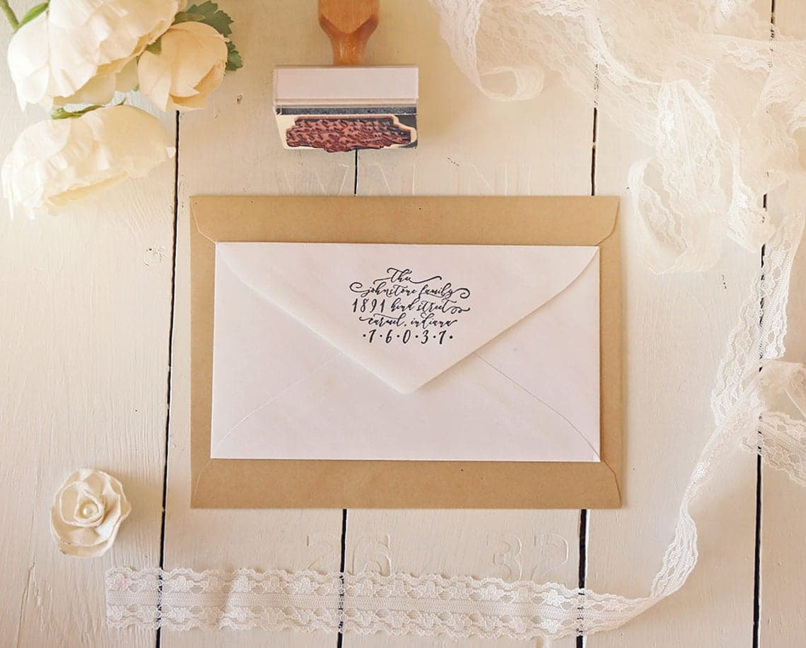 Wedding Calligraphy: How to Get a Luxurious Look for Less