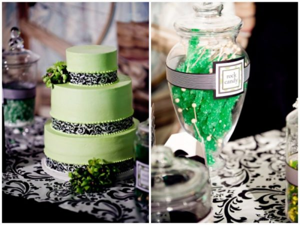 damask and apple green wedding_0020