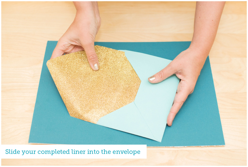 Envelope Liner Tutorial | The Budget Savvy Bride