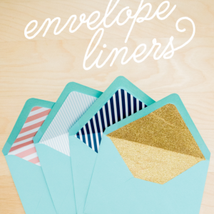 Envelope Liner Tutorial