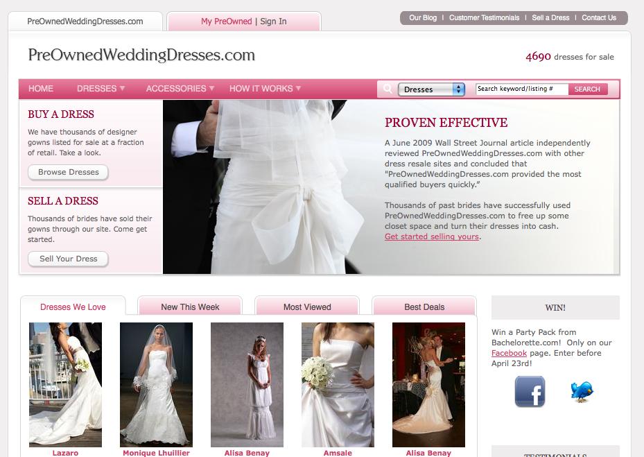 Preownedweddingdresses Com