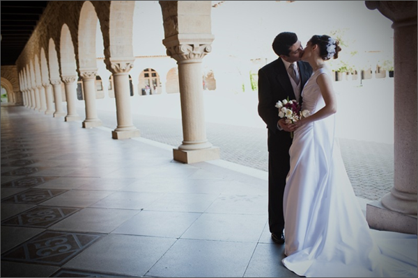 Stanford Campus Wedding