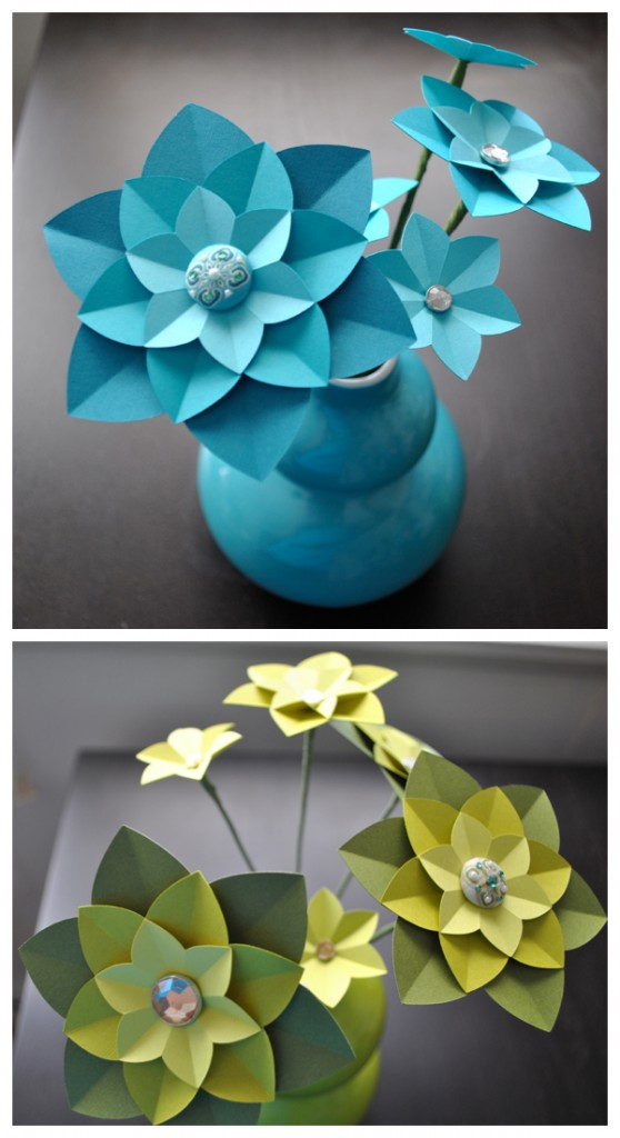 how to make paper flowers wedding. These colorful, cheery flowers
