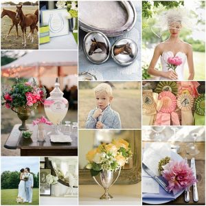 Inspiration Board kentucky derby Postcards and Pretties