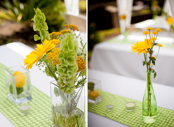 joshcara1 in Yellow + Green Backyard Wedding and budget savvy wedding of the week