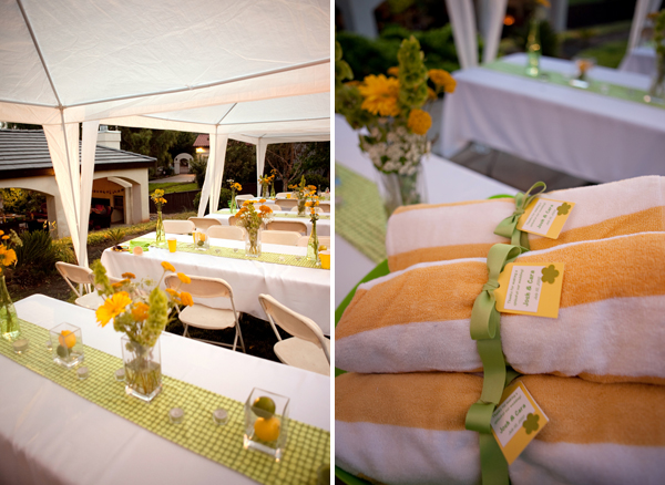 joshcara2 in Yellow + Green Backyard Wedding and budget savvy wedding of the week