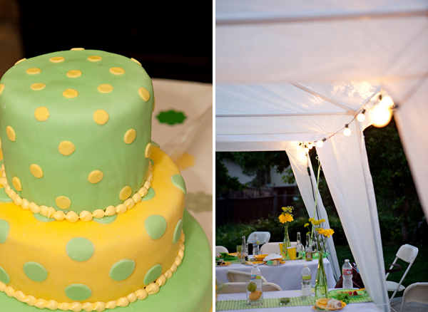 joshcara3 in Yellow + Green Backyard Wedding and budget savvy wedding of the week
