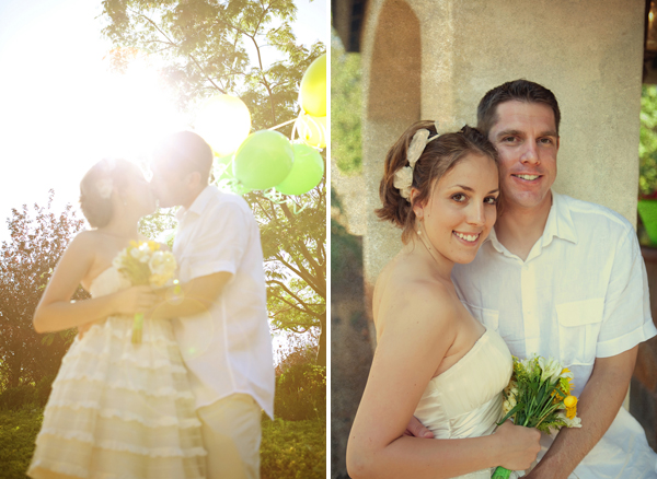 joshcara5 in Yellow + Green Backyard Wedding and budget savvy wedding of the week