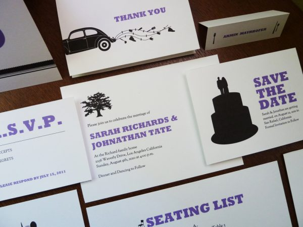 printable wedding invitation kits