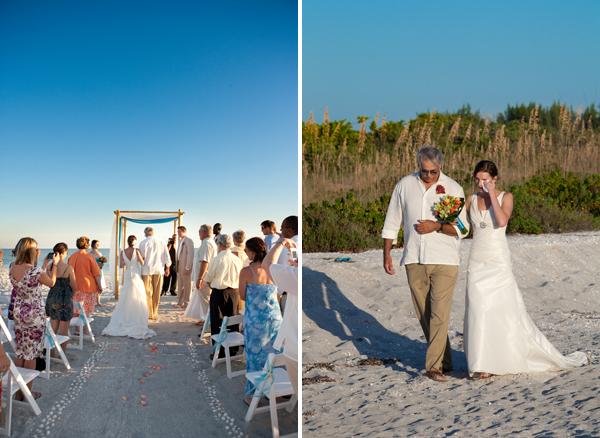 Intimate Beach Wedding