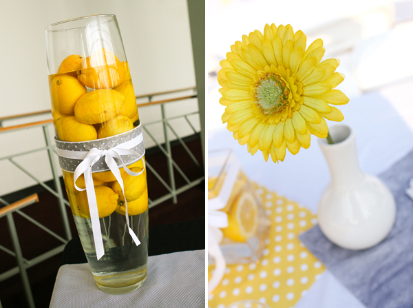 yellow and grey tennessee budget wedding
