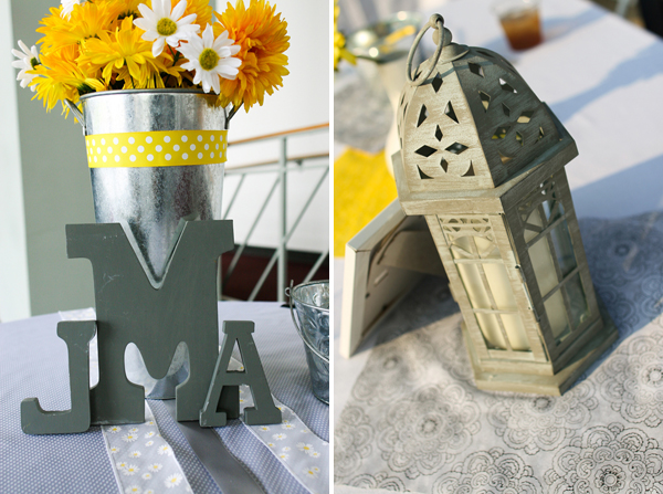 Yellow and Grey Wedding
