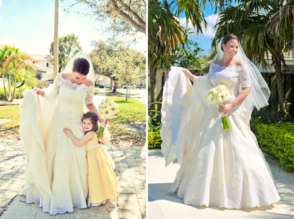 Florida spring wedding