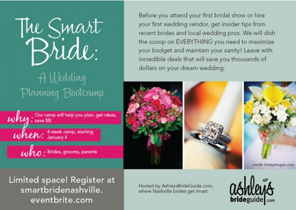 wedding planning workshop