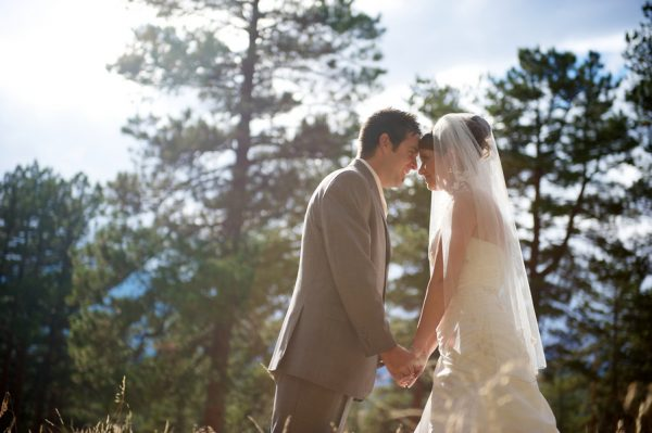 outdoor forest wedding