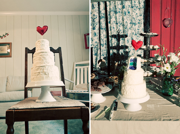 cake in Lian + Brynnen and budget savvy wedding of the week