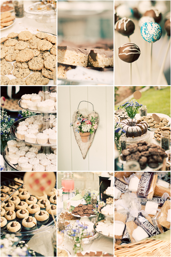 desserts in Lian + Brynnen and budget savvy wedding of the week