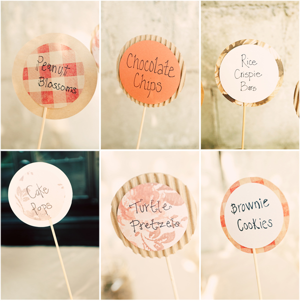dessertsigns in Lian + Brynnen and budget savvy wedding of the week