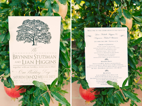 programs in Lian + Brynnen and budget savvy wedding of the week