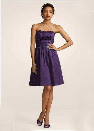 Bridesmaid dresses from David's Bridal