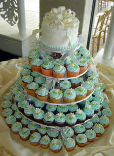 Cute, Easy Cupcakes cupcake tower