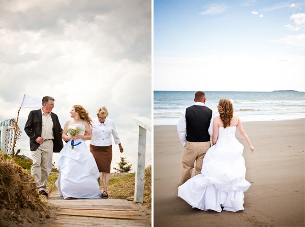 BBQ beach wedding