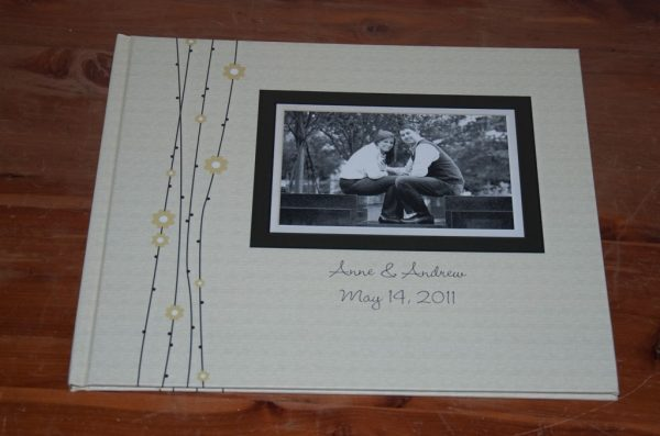 photo guestbook from lulus