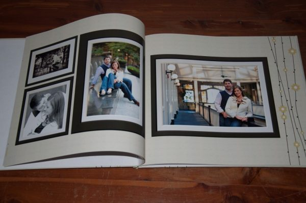 custom photo guestbook for wedding