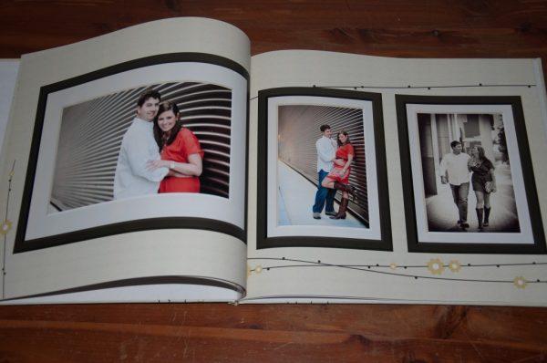 custom photo guestbook
