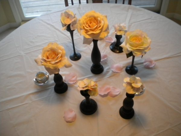 DSCN1224 600x450 in Wedding Centerpiece Trial! and diy projects