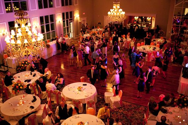 Friday night wedding