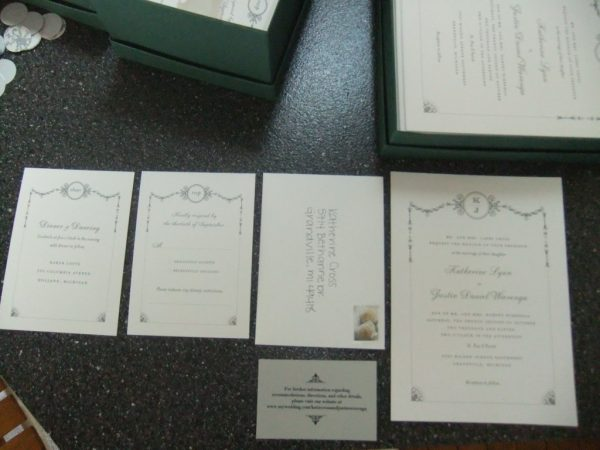 costco wedding items, Wedding invitations