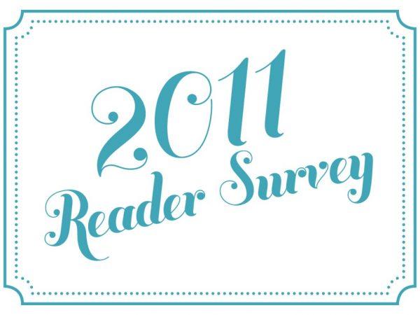 2011 reader survey