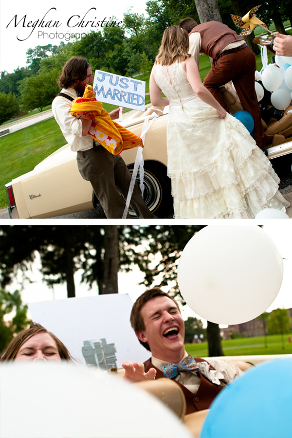 fun eclectic wedding