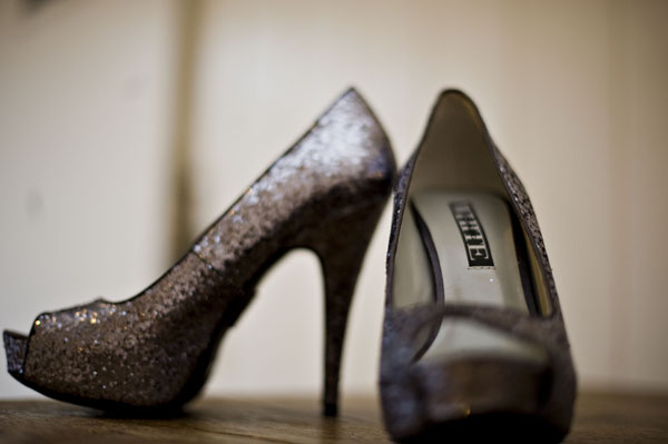 black and white Charlotte Wedding shoes