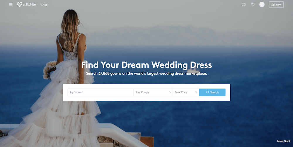Stillwhite - sell your wedding dress