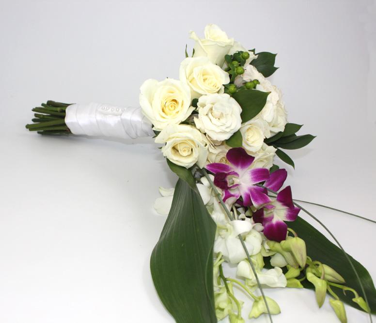 How To Make Bridal Bouquet Cascade : Alfa img showing gt make a cascade bouquet