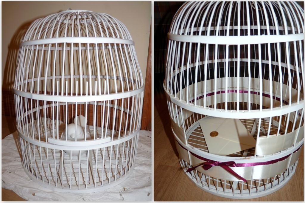 birdcage cardbox