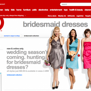 target-bridesmaid
