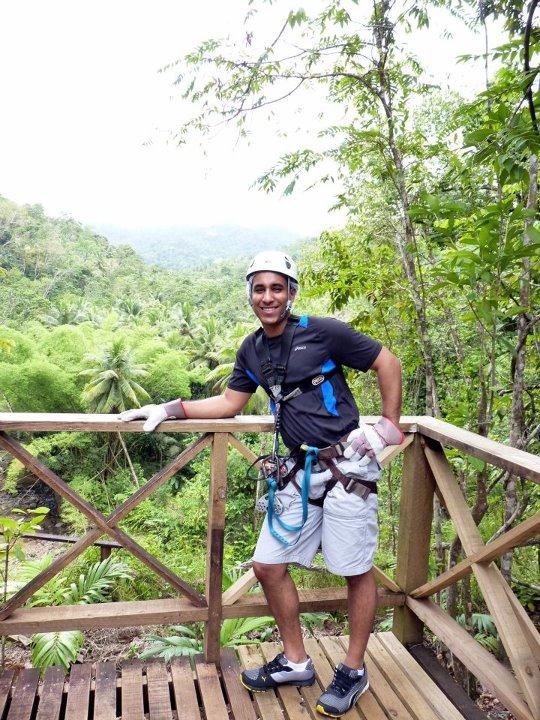 honeymooning in St. Lucia