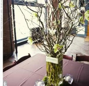 stick centerpiece inspiration