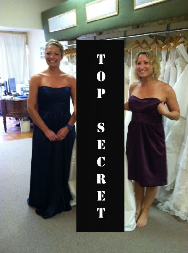 Picking Bridesmaids Dresses