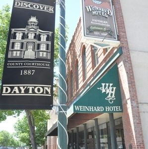 Our venue -- The Weinhard Hotel in Dayton, Wash., is rich in history and definitely budget-savvy!