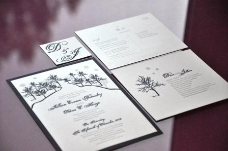 qr codes rsvp postcards and faux calligraphy the budget savvy