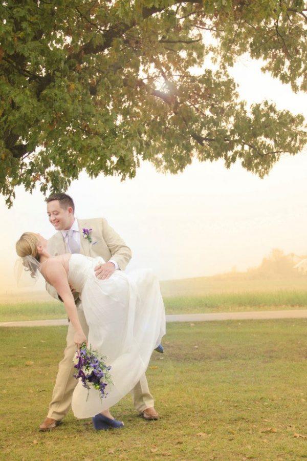 wisconsin outdoor wedding