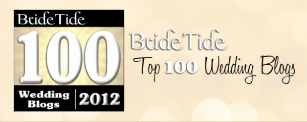 bride tide top 100 wedding blogs 600x239 in Links + Things of Interest: Nov. 30, 2012 and blog